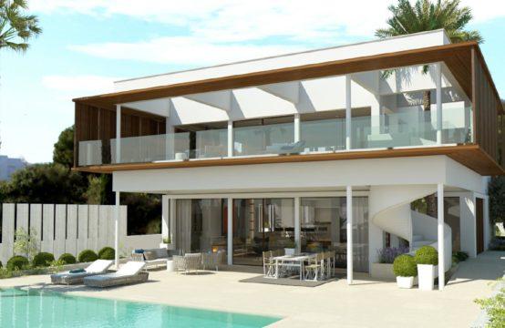 Moderne Villa in Sol de Mallorca mit Meerblick zu verkaufen