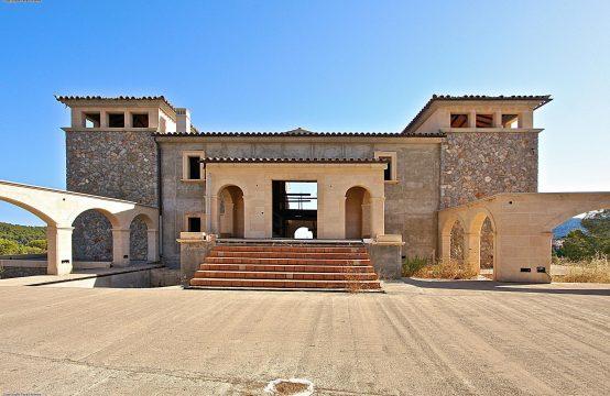 A vendre, Camp de Mar, Projet de construction d'une demeure vue mer sur un terrain de 210 000 m2