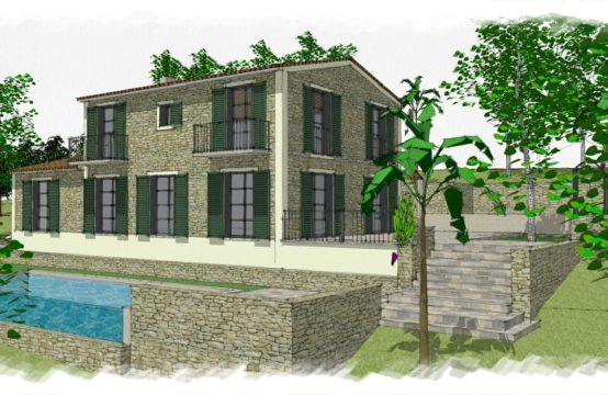 Son Font: Neubau-Projekt für eine luxuriöse Villa im Landhausstil mit 4 Schlafzimmern