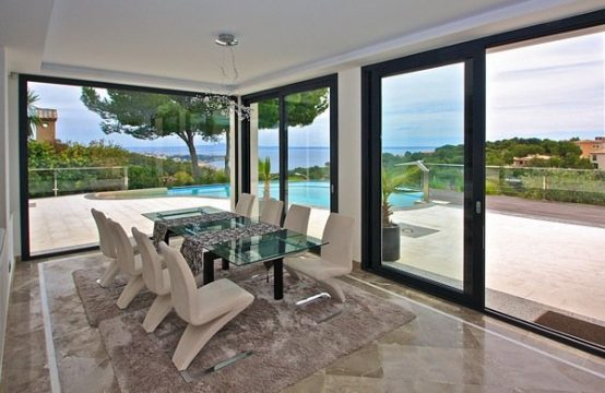Bendinat Villa for sale: Exceptional modern Villa with stunning sea views
