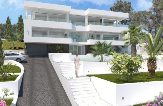 Palmanova: Top ausgestattete Neubau-Villa mit Meerblick im modernen Stil zu verkaufen
