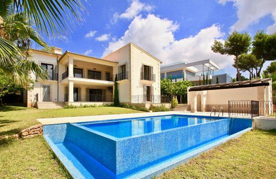 Nova Santa Ponsa: Mediterrane Villa zum Erstbezug mit traumhaftem Meerblick zu verkaufen