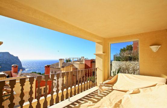 Port Andratx: Traumhaftes 3 Schlafzimmer-Garten-Apartment mit Meerblick in einer der exklusivsten Anlagen Mallorcas zu verkaufen