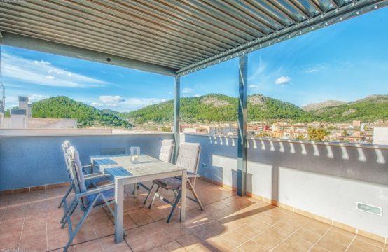 Andratx: Modernes Penthaus mit Dachterrasse, Tiefgarage und Aufzug zu verkaufen