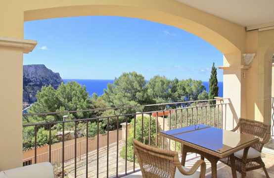 Port Andratx: 1 bed- apartment with sea views in a luxurious community for sale