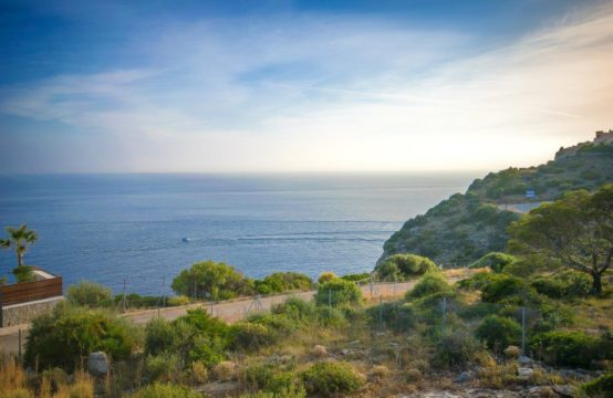 Port Andratx: Grundstück mit traumhaftem Meerblick auf La Mola zu verkaufen