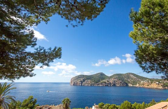 Camp de Mar: Zwei Grundstücke mit traumhaftem Meerblick in ruhiger Wohngegend zu verkaufen