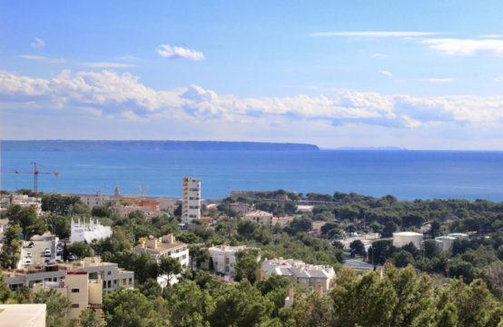 Palma: Modern renovierte Wohnung mit schönem Meerblick im Stadtteil Bonanova zu verkaufen