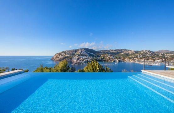 Mallorca à vendre : Villa dans un emplacement unique au-dessus du port de Port Andratx