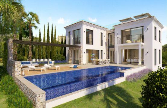 Santa Ponsa for sale: new build mediterranean villa with sea views