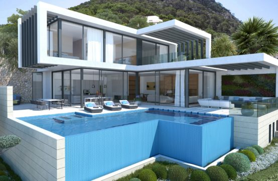 Port Andratx: modern sea view villa for sale