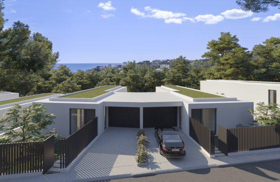 Palma de Mallorca: Grundstücke für Doppelhaushälften in Sant Augustin mit Meerblick zu verkaufen