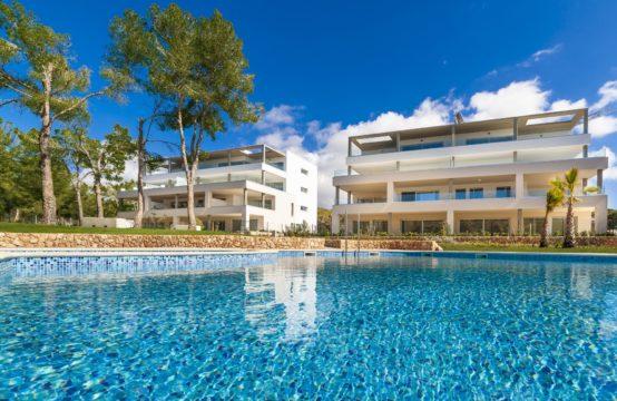 Neubauapartment am Golfplatz von Santa Ponsa mit 87m2 Terrasse zu verkaufen