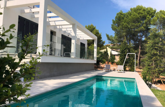 Camp de Mar: detached house with private pool for rent