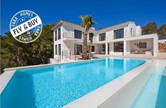 Port Andratx: Modern- Mediterrane Villa mit 4 Schlafzimmern in Monport zu verkaufen