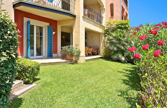 Port Andratx: beautiful garden apartment in exclusive community