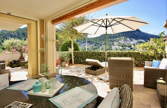 Port Andratx: beautiful garden apartment in a luxurious residence with SPA for rent
