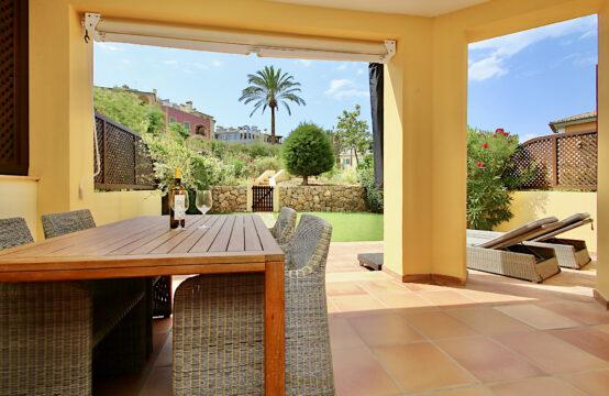 Mallorca Bendinat: Erdgeschossapartment mit großem Garten in Südausrichtung zu verkaufen