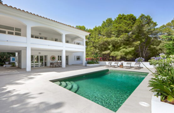 Camp de Mar: renovated villa with pool and garden for sale