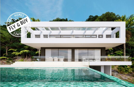 Son Vida: Luxurious Villa in final phase with 5 Bedrooms, 2 Pools and Panoramic View for Sale