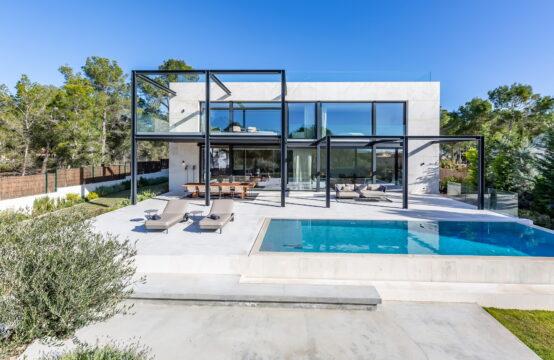 Cala Falco: Exklusive Villa mit stilvollem Interieur und Meerblick im Südwesten Mallorca
