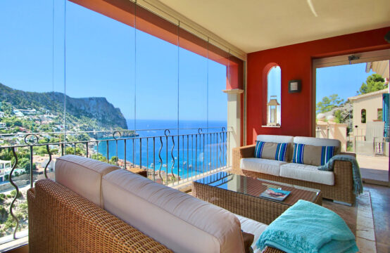 Port Andratx: Fantastic penthouse with sea views in a luxurious residence for sale