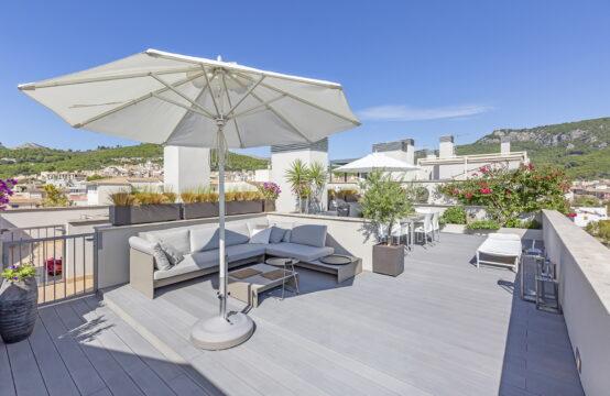 A vendre, Andratx, Penthouse de style contemporain avec toit-terrasse, parking souterrain et ascenseur