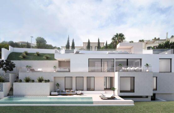 Port Andratx: Moderne Villa im Bau mit 4 Schlafzimmern, Terrassen und Pool zu verkaufen