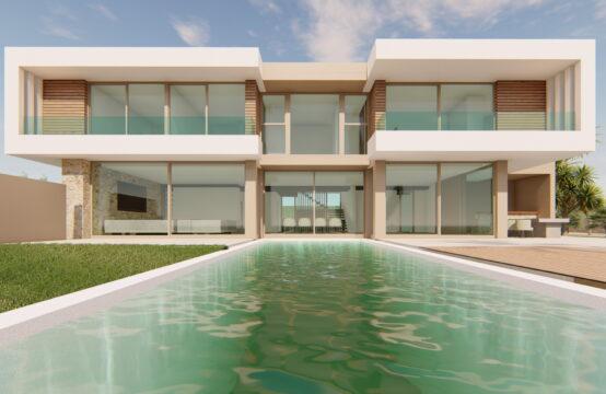 Port Andratx: Traumhafte moderne Neubau-Villa mit Hafenblick in Lauflage, 60 m vom Strand zu verkaufen