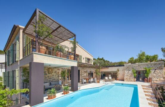 Mallorca: Villa mit viel Privatsphäre und Meerblick in Port Andratx zu verkaufen