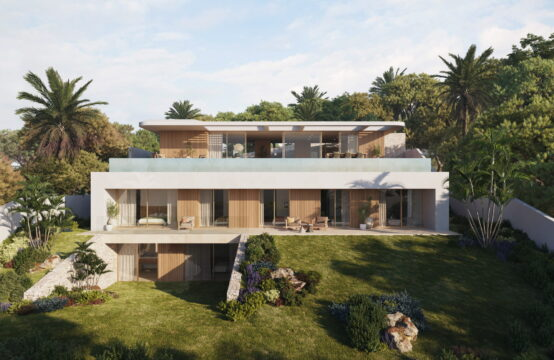 Port Andratx: Villenprojekt mit eingereichter Lizenz und traumhaftem Meerblick in ruhiger Wohngegend zu verkaufen